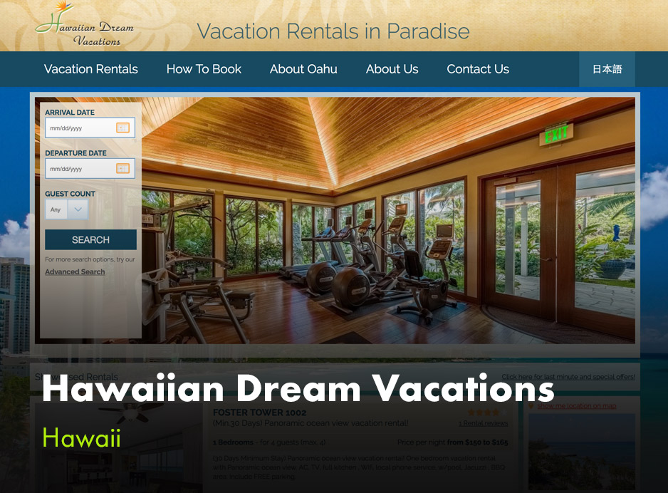 Hawaiian Dream Vacations by VR Booster